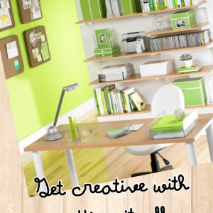 Getting creative with 'getting it organised'